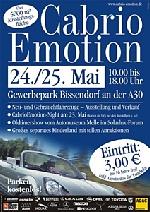 Messe 'Cabrio Emotion': Messemoderation und Ausstellerinterviews (2003)